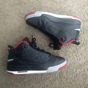 Nike Air Jordan Dub Force Size 6.5 311047-013 Blk